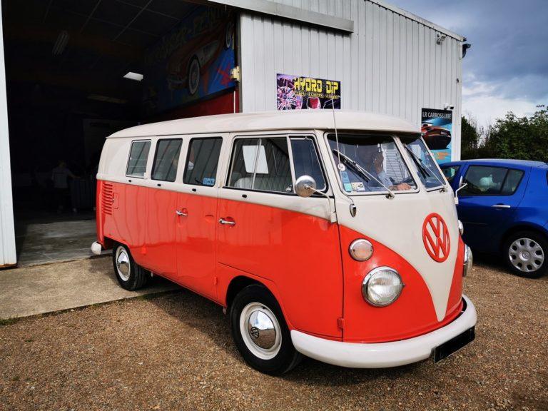 Peinture complète Volkswagen Combi